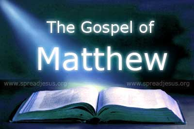 The Gospel of Matthew :Holy Bible