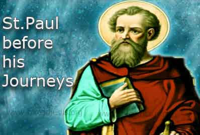 St. Paul before his Journeys