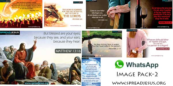 Bible quotes Whatsapp images pack 2