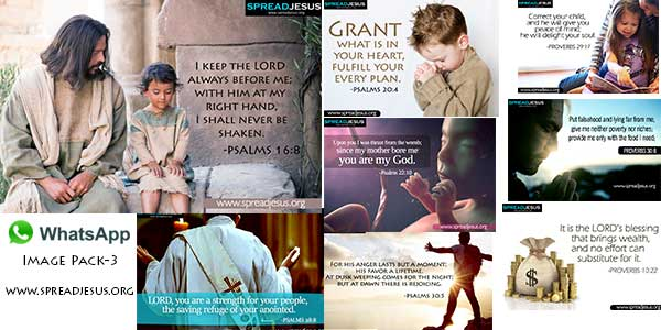 Bible quotes Whatsapp images pack 3