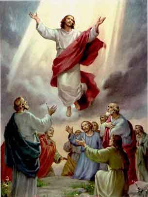 THE HOLY ROSARY The Glorious Mysteries (Wednesday and Sunday) 2nd glorious mystery - The Ascension of Jesus to Heaven
