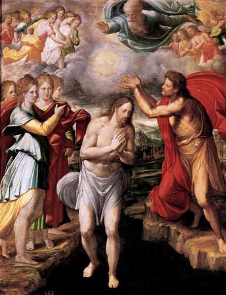 THE HOLY ROSAY The Luminous Mysteries (Thursday) 1st Luminous Mysteries - The Baptism of Jesus