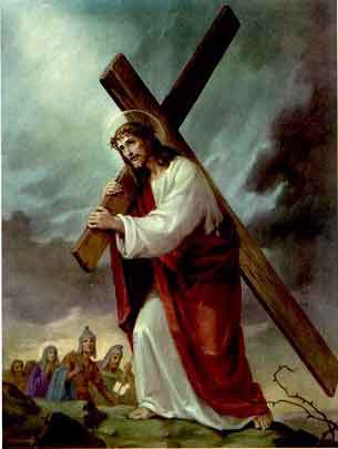 THE HOLY ROSARY-The Sorrowful Mysteries (Tuesday and Friday) 4th sorrowful mystery - The Carrying of the Cross