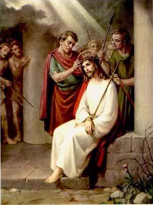 THE HOLY ROSARY-The Sorrowful Mysteries (Tuesday and Friday) 3rd sorrowful mystery - The Crowning with Thorns