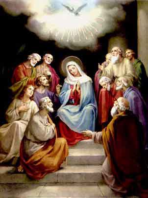 THE HOLY ROSARY The Glorious Mysteries (Wednesday and Sunday) 3rd glorious mystery - The Descent of the Holy Ghost