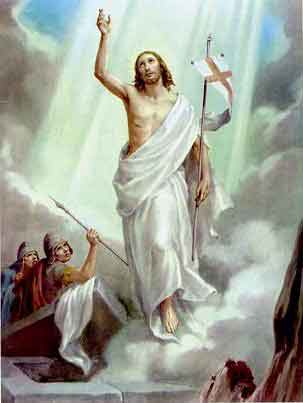THE HOLY ROSARY The Glorious Mysteries (Wednesday and Sunday) 1st glorious mystery - The Resurrection of Jesus Christ