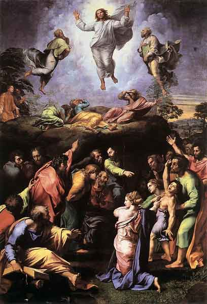 THE HOLY ROSAY The Luminous Mysteries (Thursday) 4th Luminous Mysteries - The Transfiguration