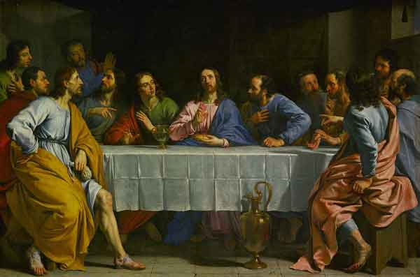 THE HOLY ROSAY The Luminous Mysteries (Thursday) 5th Luminous Mysteries - The institution of the Eucharist