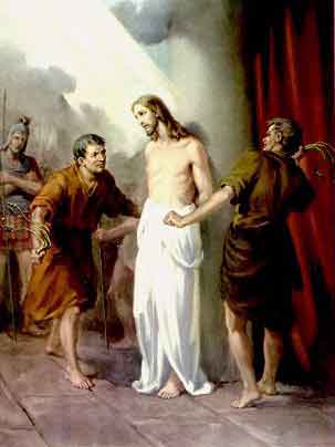 THE HOLY ROSARY-The Sorrowful Mysteries (Tuesday and Friday) 2nd sorrowful mystery-The scourging of Jesus at the pillar