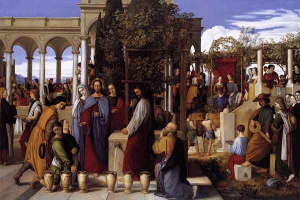 THE HOLY ROSAY The Luminous Mysteries (Thursday) 2nd Luminous Mysteries - The wedding of Cana