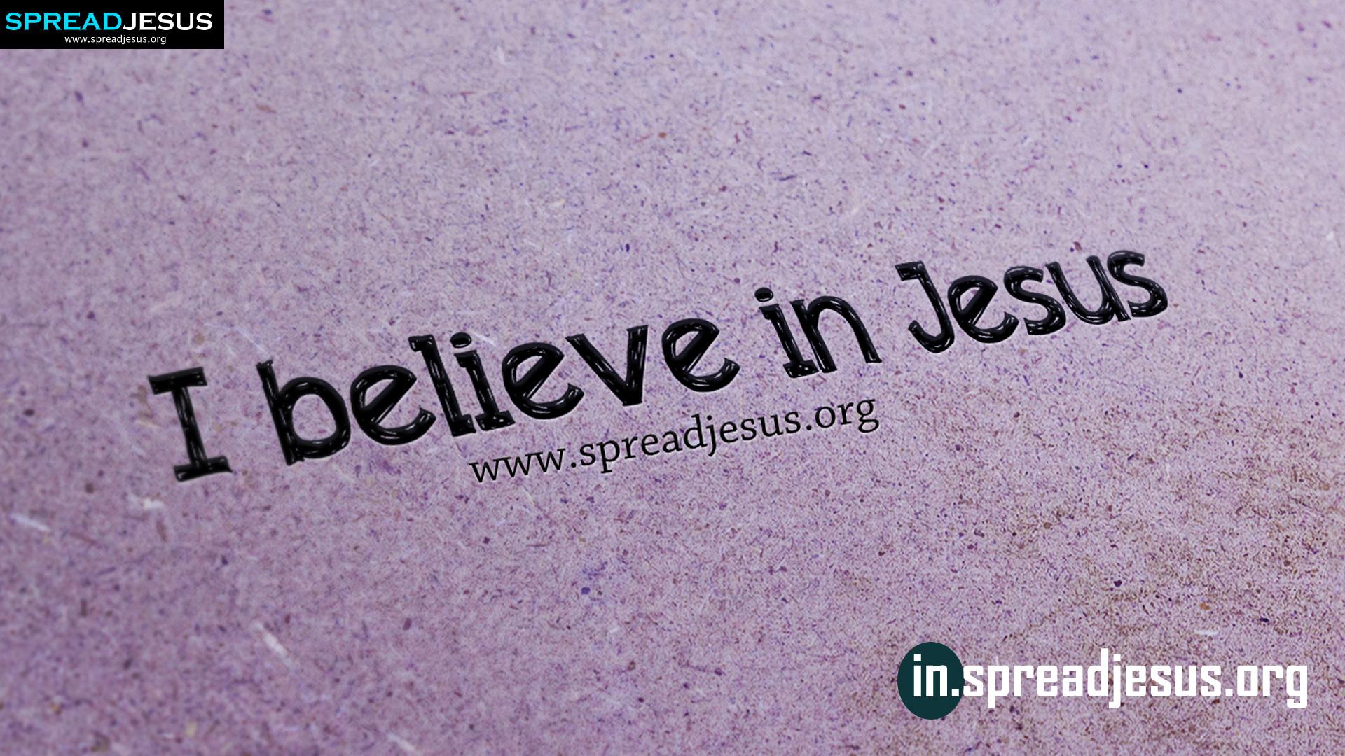 I Believe In Jesus JESUS CHRIST HD Wallpapers Free