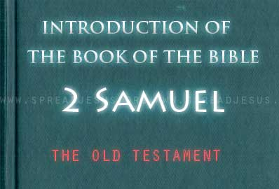 The book Of The Bible 2 Samuel The second part of the book of Samuel (2 Samuel) does not speak of Samuel, but of David and the stories about his reign as king.