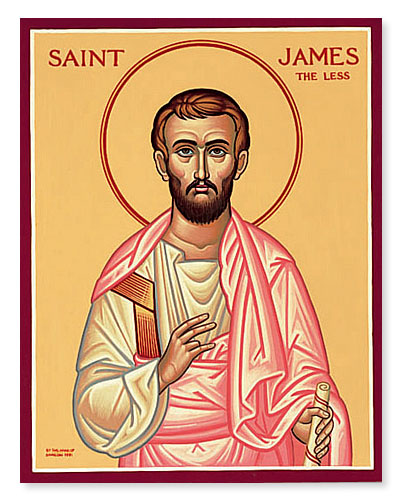 WELVE APOSTLES-JAMES THE LESS He is known as the Son of Alphaeus and James, the Less (Mk. 15:40). He may have been called the Less (Grk. mikros) because he was small