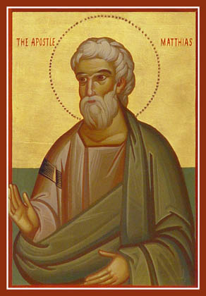 THE TWELVE APOSTLES-MATTHIAS Matthias: He was chosen to take the place of Judas by the OT method of drawing lots