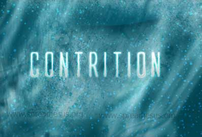 The Sacrament of Reconciliation-Contrition