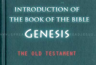 The book Of The Bible Genesis The first book of the Bible is not a scientific narrative about the origin of the universe. Rather, it is the story of the beginning of humanity's relationship with God.