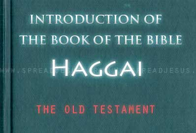 The book Of The Bible Haggai Haggai was aprophet of the restoration who challenged the returning exiles to rebuild the temple in Jerusalem. King Cyrus had issued his decree in 537 BCE