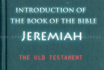 The book Of The Bible Jeremiah The book of Jeremiah presents prophecy at a time of national tragedy for the kingdom of Judah before, during, and after the Babylonian exile in 587 BCE.