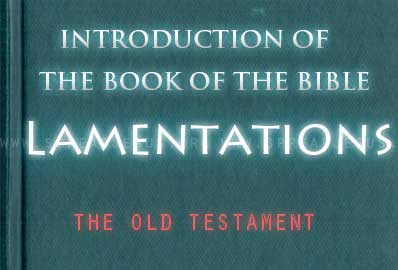 The book Of The Bible Lamentations Tradition assigns authorship of Lamentations to Jeremiah, as the writing ex presses profound grief over the destruction of Jerusalem by the Babylonians in 587 BCE.