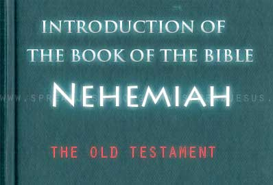 The book Of The Bible Nehemiah The last part of the Chronicler's history is presented as the book of Nehemiah. The layman Nehemiah was responsible for administrative affairs and for rebuilding the walls