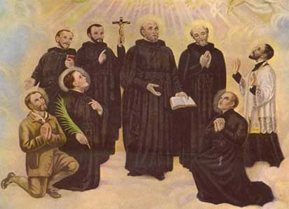 North American Martyrs (A group of seven French-born Jesuits who were missionaries to the Huron, Mohawk and Tobacco Indians in what is now upstate New York)-spreadjesus.org