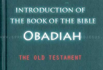The book Of The Bible Obadiah Obadiah Is t he shortest book of the or. It contains only 21 verses, which preserve Obadiah's bitter prophecy against Edom. The date of composition of the book of Obadiah