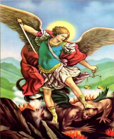 Prayer To Michael, The Archangel Merciful God, send to us Michael, the prince of the heavenly host, to deliver us from the power of our enemies and conduct us unscathed into your presence, our Lord and God.
