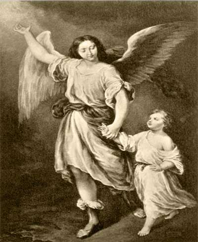 Prayer To One's Guardian Angel Hail, holy angel of God, guardian of my soul and body. By the sweet heart of Jesus, Son of God, for the love of him who created you and me