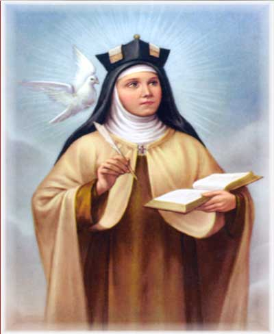 Prayer To Saint Teresa Of  Avila