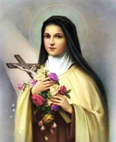 Prayer To Saint Therese Of  Lisieux