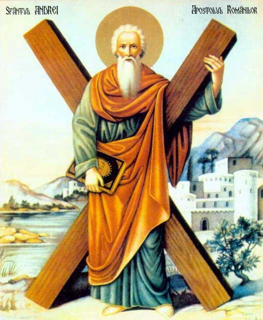 st.Andrew the Apostle-One of Jesus' Twelve Disciples or Apostles