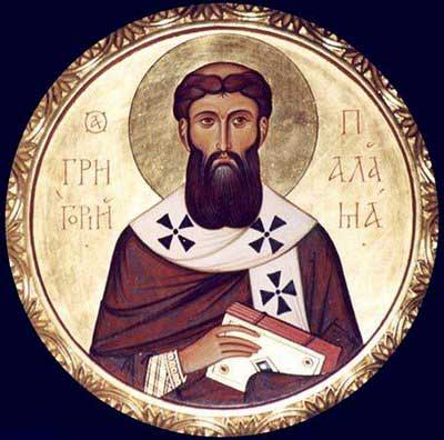 st.Gregory Palamas-Athonite monk and archbishop of Thessalonica