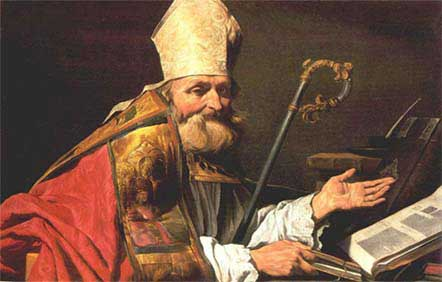 st.Ambrose-Bishop of Milan, Latin Father and Doctor of the Church, known for his miracles and his writings