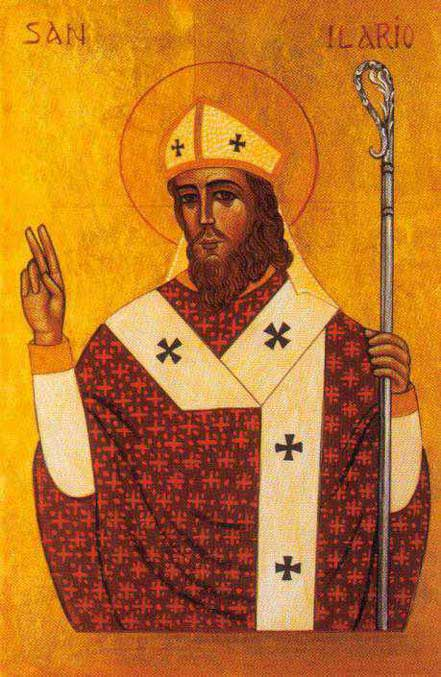 st.Hilary of Poitiers-Bishop of Poitiers, Father of the Church and Doctor of the Church