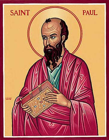 "st.Paul (Apostle to the Gentiles, mystic, martyr, theologian and missionary) Patronage: public relations; against snakebites; tentmakers Name meaning: ""Little"" -spreadjesus.org"