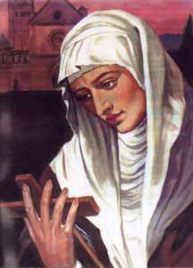 St.Agnes of Assisi
