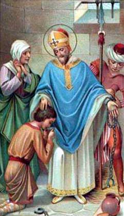 st.Paulinus of Nola-Bishop of Nola, Father of the Church