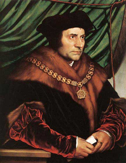 st.Thomas More-Lord chancellor of England; scholar; martyr