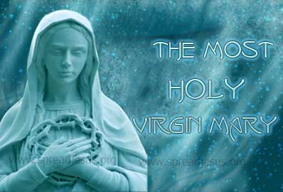 Immaculate conception-The most Holy Virgin Mary