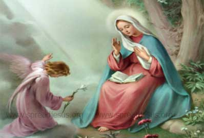 The Hail Mary-blessed art thou among women
