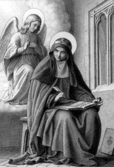 st.Bridget of Sweden-Wife, mystic and founder of the Brigittines order; patron of Sweden