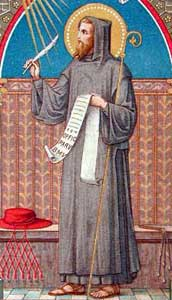 st.Peter Damiaan-Cardinal, reformer, Doctor of the Church