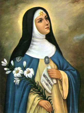 st.Beatrix da Silva-Cistercian abbess