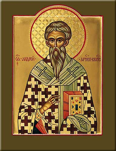 st.Andrew of Crete-Greek Father of the Church