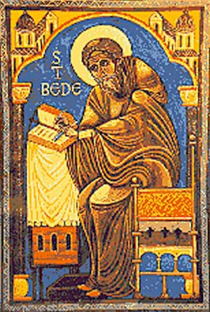 st.Bede the Venerable-Doctor of the Church and historian