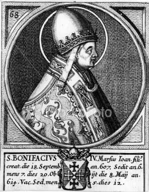 st.Boniface IV-Pope and martyr