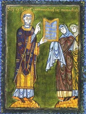 st.Caesarius of Arles-Bishop of Arles, Father of the Church