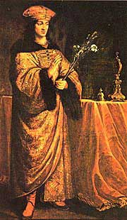 st.Casimir-Prince and patron saint of Poland and Lithuania