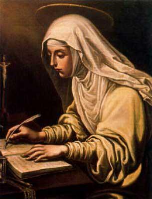 st.Catherine de Ricci-Dominican mystic and stigmatist