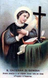 st.Catherine of Genoa-Extraordinary mystic